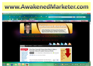 awakenedmarkter dot com blog with header 300x213 Build Backlinks to Your Blog to Climb up Google!